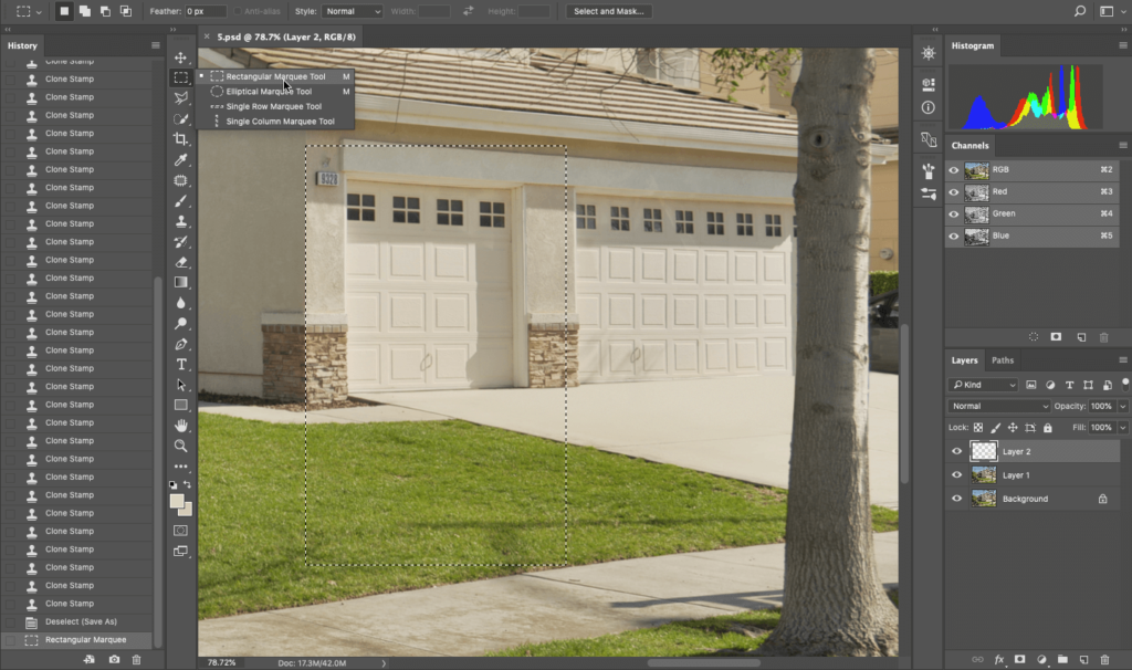 Remove an Object In Photoshop for Real Estate Photo Editing