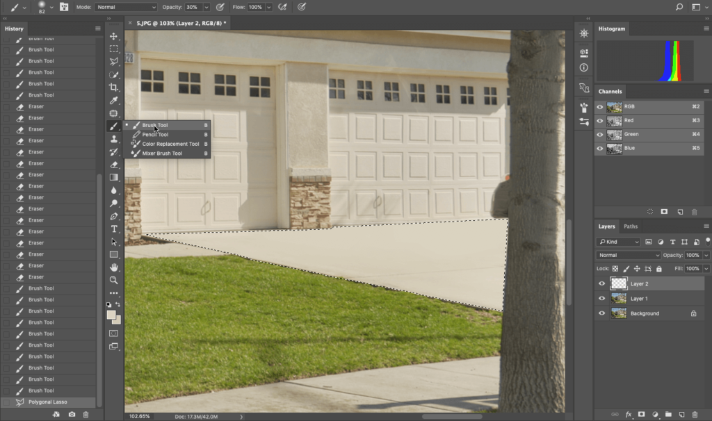 How to Remove an Object In Photoshop for Real Estate Photo Editing